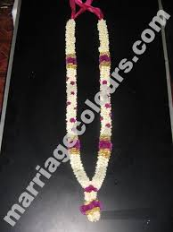 flower garland for indian wedding white and purple dots garland indian wedding flower garland garlands