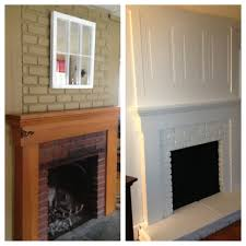 home decor new how to update a brick fireplace interior design