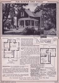 Vintage Farmhouse Plans 1923 Sears Mailorder House Designing A House Must Have Been Much