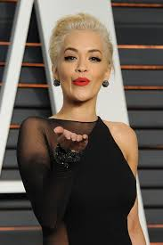 Vanity Fair After Oscar Party Rita Ora Goes Knickerless In Risqué Black Sheer Dress At The