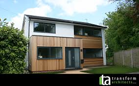 contemporary cedar clad makeover and extensions 01 u2013 transform