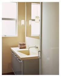 Pendant Lights In Bathroom by Et2 Lighting In Bathroom Modern With Vinyl Bathroom Wallcovering