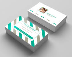 Personalized Business Cards Pastel Business Card Etsy