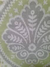 Green And Gray Shower Curtain Cynthia Rowley Medallion Damask Fabric Shower Curtain