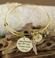 personalized bangles roots wings bracelet personalized bangle bracelet angel wing