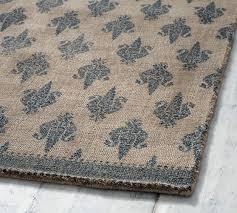 Pottery Barn Rug Pad Sharona Printed Rug Pottery Barn