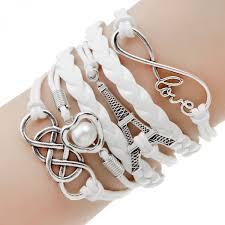 leather wrap anchor bracelet images Vintage owls and anchor bracelets leather wrap bracelet charm jpeg