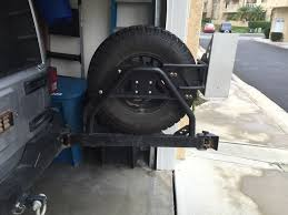 jeep rear bumper with tire carrier for sale so cal metalcloak bumper tire carrier