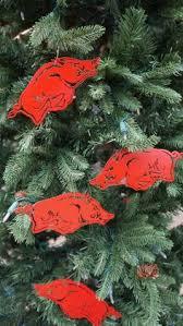 my razorback ornament note i would probably only make