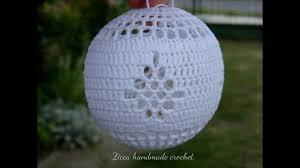 beautiful crochet christmas ball ornaments youtube