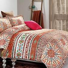 Orange King Size Duvet Covers Bohemian Bedding U2013 A Luxury Bed U2013 Silk Sheets Bedspreads Luxury