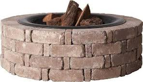 Brick Fire Pit Kit by Build Your Own Fire Pit The Home Depot Community