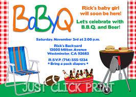 father to be bbq babyq football baby shower invitation printable
