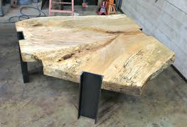handmade tables for sale handmade spalted maple and steel coffee table by donald mee designs