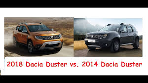 nissan terrano vs renault duster 2018 dacia duster vs 2014 dacia duster u2013 old vs new exterior