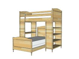 Diy Bunk Beds With Stairs Bunk Bed With Stairs Plans Loft Bed With Stairs Building Plans