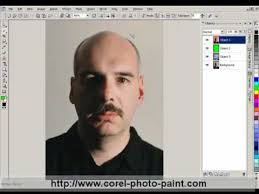 corel photo paint x7 how to keep only part of an image photo in color