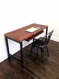 Steel Pipe Desk by L Shaped Desk Reclaimed Wood Desk Wood And Steel Desk