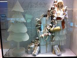 not so see through looking for christmas window display