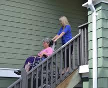 wheelchair lifts portable stair trac garaventa lift