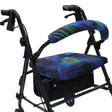 Covering A Seat Cushion Turn Your Rollator Into A Fashion Statement With Crutcheze