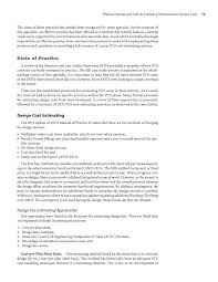 appendix c effective practices and tools for estimating