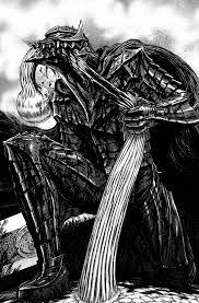 berserk anime berserk berserker armor fan art u2014 polycount