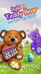 build a teddy build a teddy send easter eggs baskets best bunny gift