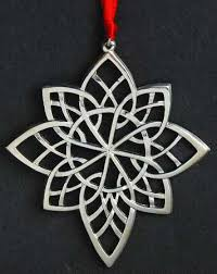 lunt annual snowflake ornaments at replacements ltd