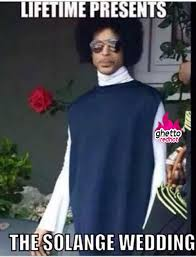 Solange Meme - solange wedding ghetto red hot