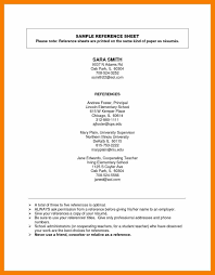 Sample Teacher Resume Format by Free Reference Template For Resume Resume For Your Job Application