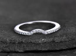 silver zirconia rings images Sterling silver ring cubic zirconia wedding band cz wedding ring jpg