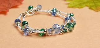 diy crystal bead bracelet images Easy tutorial on making chic bracelets with crystal beads beads jpg