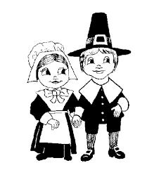 pilgrim clipart black and white pencil and in color pilgrim