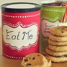 diy cookie tins simple gift miss wish