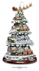 thomas kinkade wonderland express christmas tree thomas kinkade