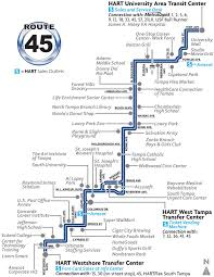 Map Of Route 66 Pinellas Bus Route 66 The Best Bus