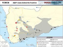 Map Of Yemen Aqap A Resurgent Threat Critical Threats