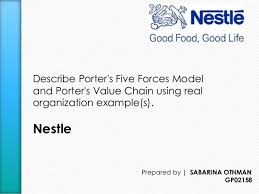 porter u0027s five forces model and porter u0027s value chain of nestle