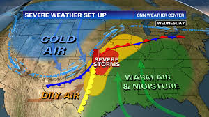 Severe Weather Map Life Will Get More Severe For Today U0027s Weather Forecasters