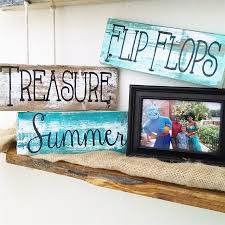 rustic beach and summer pallet board signs jane
