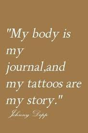 quotes about tattoos by janny dangerous s