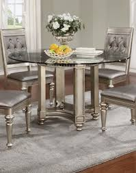 Silver Dining Tables Silver Dining Room Sets New Bling Silver Dining Room Set For