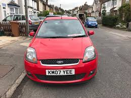 ford fiesta ghia 5dr red one owner 2007 manual petrol leather