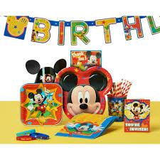 mickey mouse party decorations mickey mouse clubhouse hanging party decorations 12pc walmart