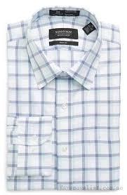 man men u0027s blue dress shirts shirt smartcare trim fit dress marine