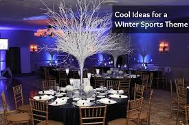 cool theme ideas for a winter ski or snowboard bar bat mitzvah
