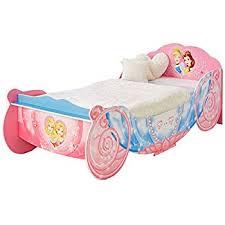 princess carriage single bed frame pink amazon co uk kitchen u0026 home