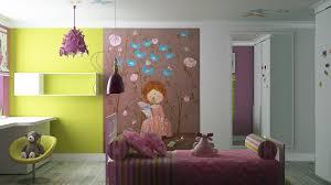 bedroom ideas lovely barbie motif bedroom for pink wall