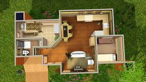mod the sims small lot series roommate modern